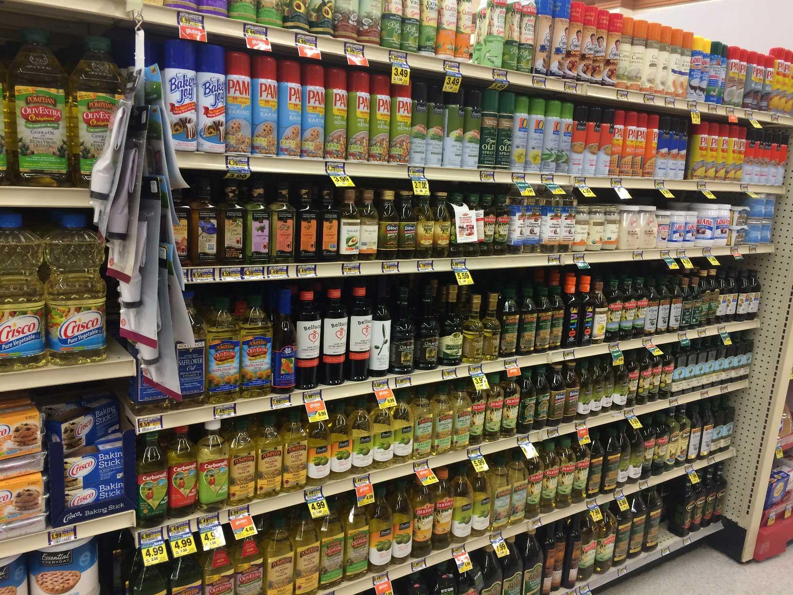 Olive Oil Aisle